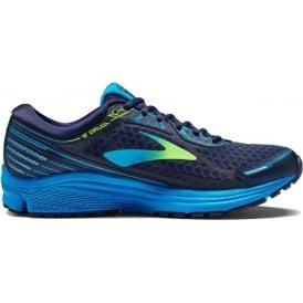 Brooks Aduro 5 Mens D (STANDARD WIDTH) Road Running Shoes Navy/Green/Blue