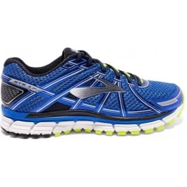 Brooks Adrenaline GTS 17 Mens 2E (WIDE WIDTH) Road Running Shoes Electric Blue/Black/Nightlife