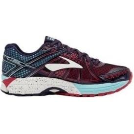 Brooks Adrenaline GTS 17 Womens B (STANDARD WIDTH) Road Running Shoes Limpet Shell/Evening Blue/Virtual Pink