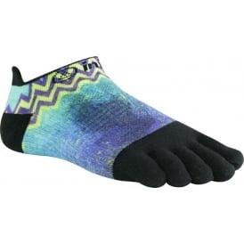 Injinji Socks Run Lightweight No Show Running Toe Socks Electric Womens