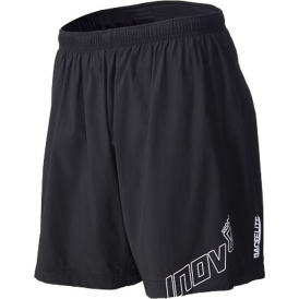 "Inov8 Race Elite 140 (6"" Six Inch) Mens Running Shorts Black"
