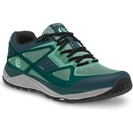 Topo Terraventure Womens Low Drop & Wide Toe Box Trail Running Shoes Teal/Mint