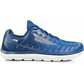 Altra One V3 Mens Zero Drop Road Running Shoes Blue/Grey