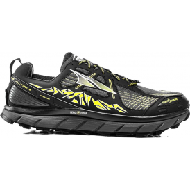 Altra Lone Peak 3.5 Mens Zero Drop Trail Running Shoes Black/Yellow