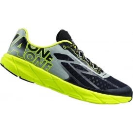 Hoka Tracer Mens Road Running & Racing Shoes Black/Citrus