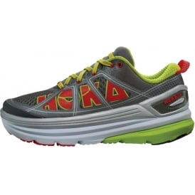 Hoka Constant 2 Womens Road Running Shoes Grey/Acid