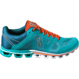 ON Cloudflow Womens Road Running Shoes Atlantis & Flame