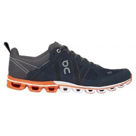 ON Cloudflow Mens Road Running Shoes Rock & Orange