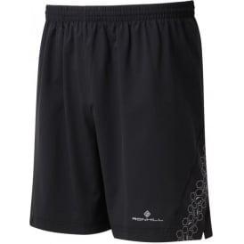 """Ronhill Mens Momentum Sirius 7"""" Running Shorts Black"""