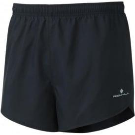 Ronhill Mens Everyday Split Running Shorts All Black