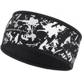 Ronhill Sirius Running Headband Black/Reflect