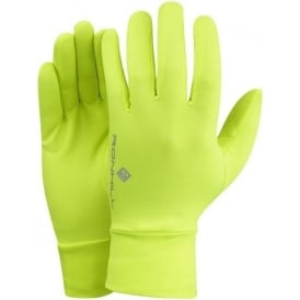Ronhill Classic Running Gloves Fluo Yellow