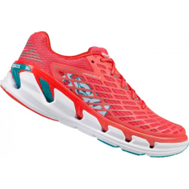Hoka Vanquish 3 Womens Road Running Shoes Dubarry/Grenadine