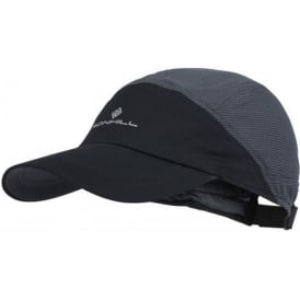 Ronhill Air-Lite Running Cap Black/Charcoal