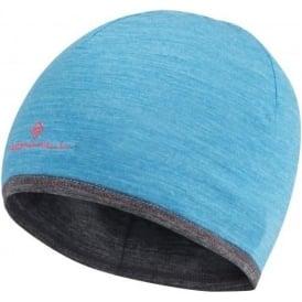 Ronhill Merino Running Hat Deep Cyan/Grey Marl