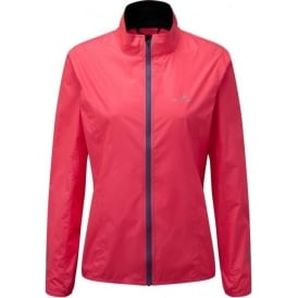 Ronhill Stride Windspeed Womens Running Jacket Hot Pink/Deep Cyan