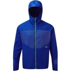 Ronhill Momentum Sirius Mens Running Jacket Blue Cobalt/Gecko