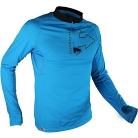 Raidlight Performer XP Mens Long Sleeve Running T-shirt Electric Blue/Black