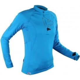 Raidlight Performer XP Womens Long Sleeve Running Top Electric Blue