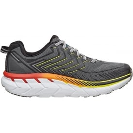 Hoka Clifton 4 Mens Road Running Shoes Castlerock/Atomic Blue