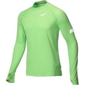 Inov8 AT/C Long Sleeve Mens Running Base Layer Green