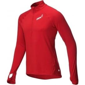 Inov8 AT/C Long Sleeve Mens Running Mid Layer Dark Red