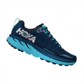 Hoka Challenger ATR 4 Womens Trail Running Shoes Poseidon/Bluebird