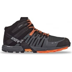 Inov8 Roclite 320 GTX Mens Trail Running Shoes Black/Grey/Orange