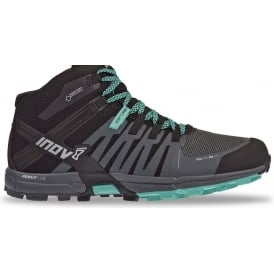 Inov8 Roclite 320 GTX Womens Trail Running Shoes/Boots Black/Grey/Teal