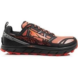 Altra Lone Peak 3.0 Neoshell Low Mens Zero Drop Trail Running Shoes Black/Orange