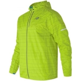 New Balance Reflective Packable Jacket Mens