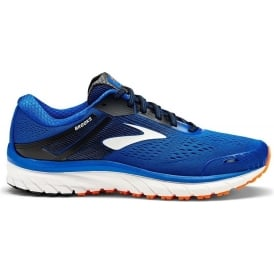 Brooks Adrenaline GTS 18 Mens 4E (EXTRA WIDE) Road Running Shoes Blue/Black/Orange