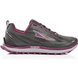 Altra Superior 3.5 Womens Zero Drop Trail Running Shoes Grey/Purple