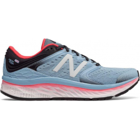 New Balance 1080 v8 Fresh Foam Womens D Width (Wide) Road Running Shoes Blue/Coral