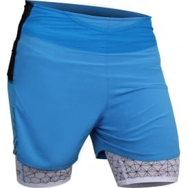 Raidlight Ultralight Mens Running Shorts Electric Blue/Blue