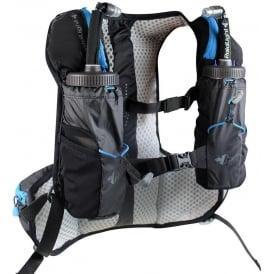 Raidlight Ultra Legend 5L Running Hydration Vest Black/Electric Blue