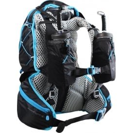 Raidlight Ultra Legend 20L Running Hydration Vest & Bag Black/Electric Blue