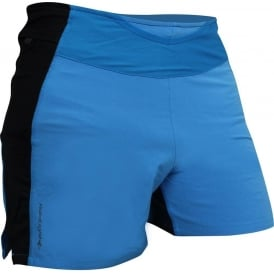Raidlight Trail Raider Mens Breathable Running Shorts with Pockets Electric Blue/Black