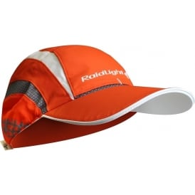Raidlight R-Light Mens Breathable Running Cap with Vents Piment/Orange