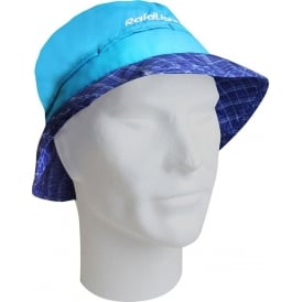 Raidlight 'Trail Hat' Summer Running Hat with Neck Protection Electric Blue