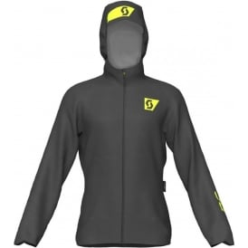 Scott RC Run Mens Waterproof Breathable Running Jacket Black/Yellow
