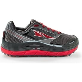 Altra Olympus 2.5 Mens High Cushioning Zero Drop Road Running Shoes Black/Red