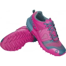 Scott Kinabalu Power Womens Cushioned Trail Running Shoes Pink/Blue