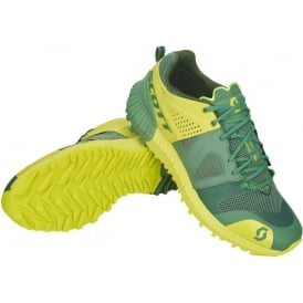 Scott Kinabalu Power Mens Cushioned Trail Running Shoes Green/Yellow