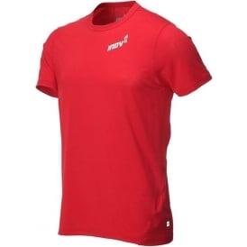 Inov8 Dri Release Short Sleeve Tee Dark Red Mens