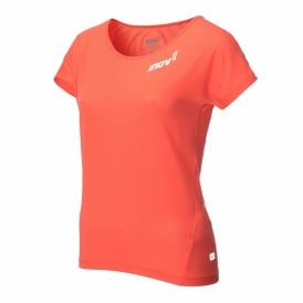 Inov8 AT/C Dri Release Womens Quick Drying Short Sleeve T-shirt Coral