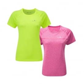 Ronhill Everyday Womens Short Sleeve Sweat Wicking Running T-shirt