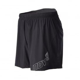 "Inov8 AT/C Mens 6"" Breathable & Waterproof Trail Running Shorts Black"