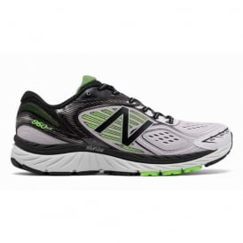 New Balance 860 V7 White/Black Mens 2E WIDTH (WIDE) Road Running Shoes
