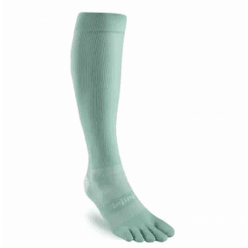 Injinji Socks Ultra Compression Over Calf Womens Running Toe Socks - Jade